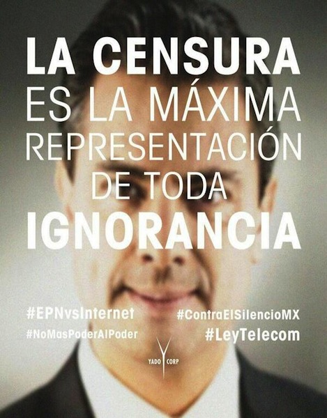 Censura LeyTelecom