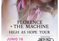 Florence and The Machine Mexico 2019_poster