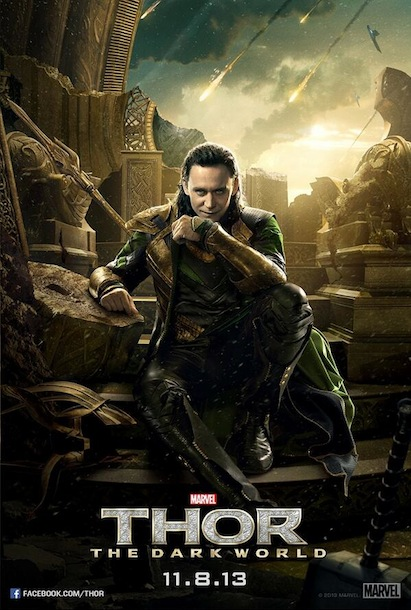 Thor The Dark World Loki Poster