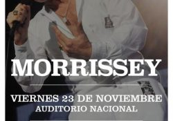 Morrissey Mexico 2018_Poster