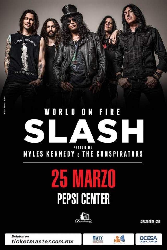 Slash Mexico 2015