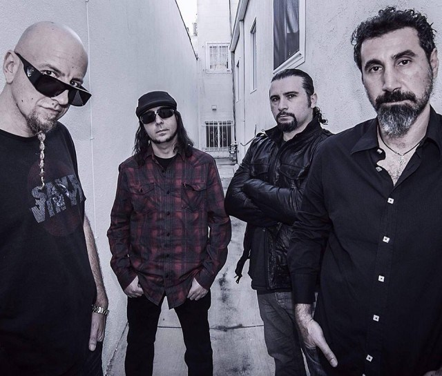 System of a Down 2015