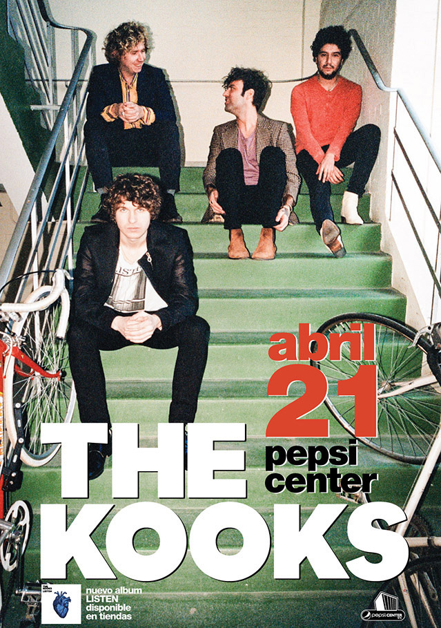 The Kooks Pepsi center 2015