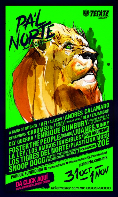 Poster Pal Norte 2014