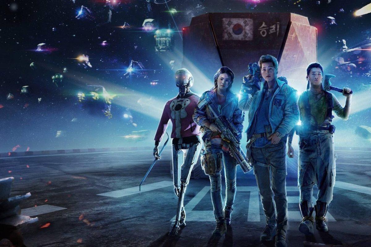 Barrenderos_espaciales de Netflix reseña_Space_Sweepers_poster