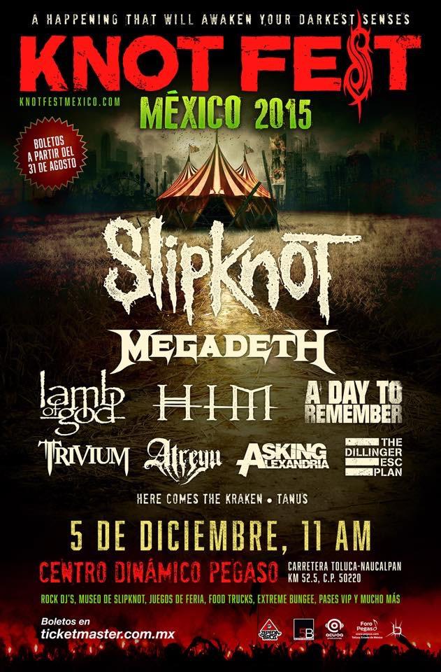 Cartel_Knot Fest_Mexico_2015