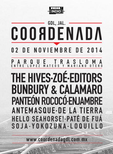 Festival Coordenada 2014 Gdl