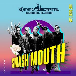 Corona Capital 2021 Cartel con Smash Mouth