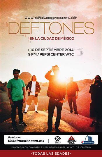 Deftones Mexico 2014