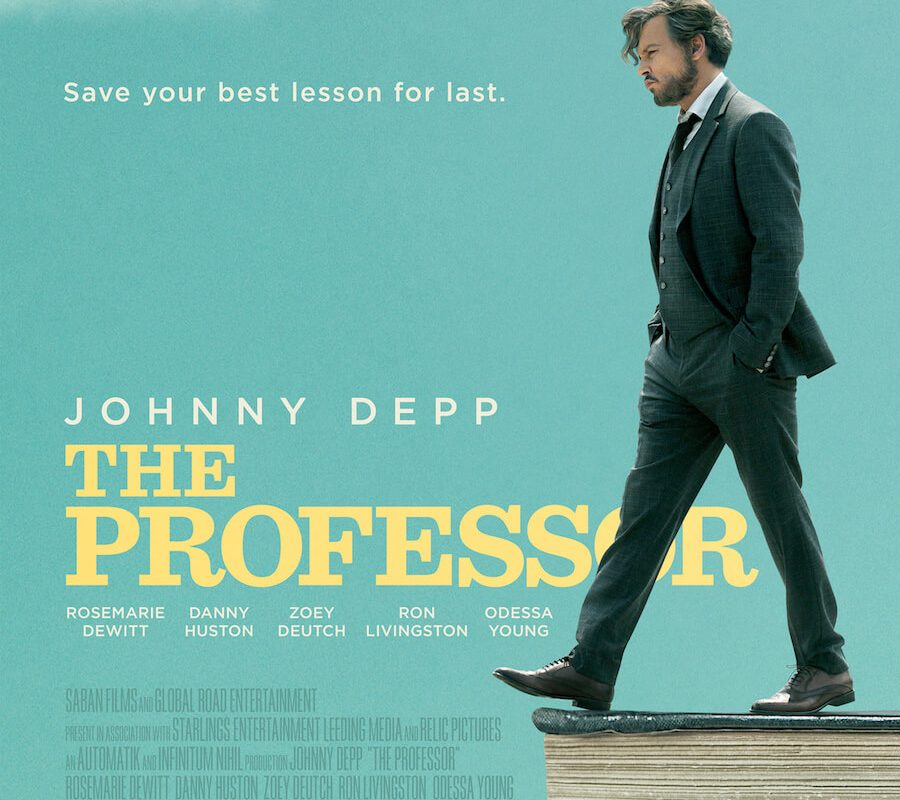 El Profesor con Johnny Deep