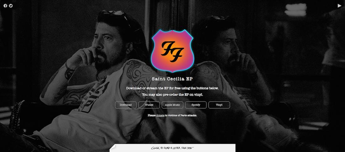 Foo Fighters-Saint_Cecilia_EP_2015