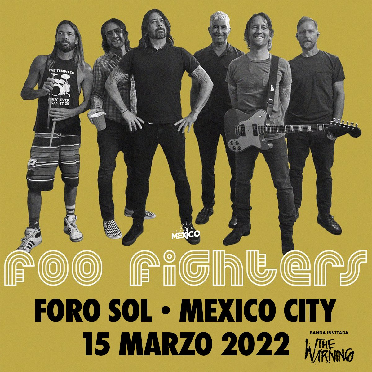 foo fighters mexico 2022