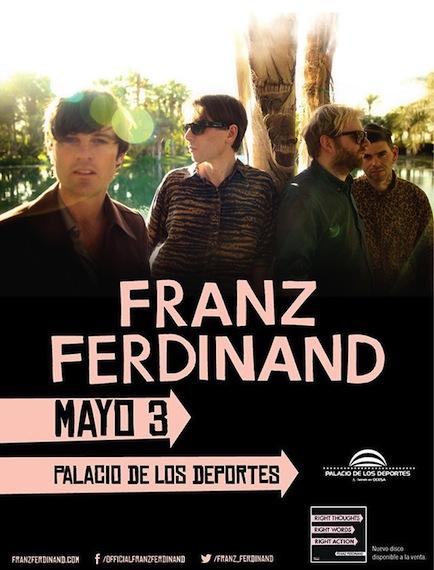 Franz Ferdinand en Mexico 2014