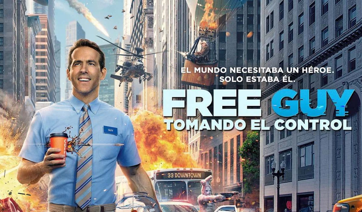 Free Guy pelicula poster