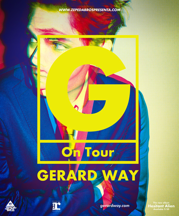 Gerard Way Mexico 2014