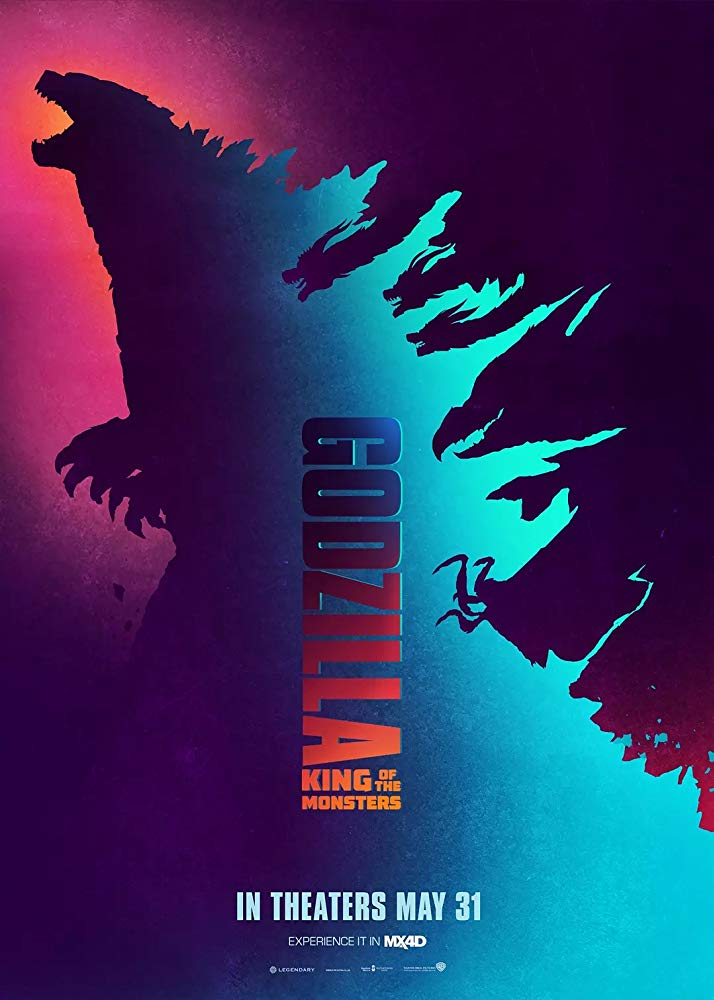 Godzilla II_King_of_the_Monsters_Godzilla_2_El_Rey_de_los_Monstruos_Poster
