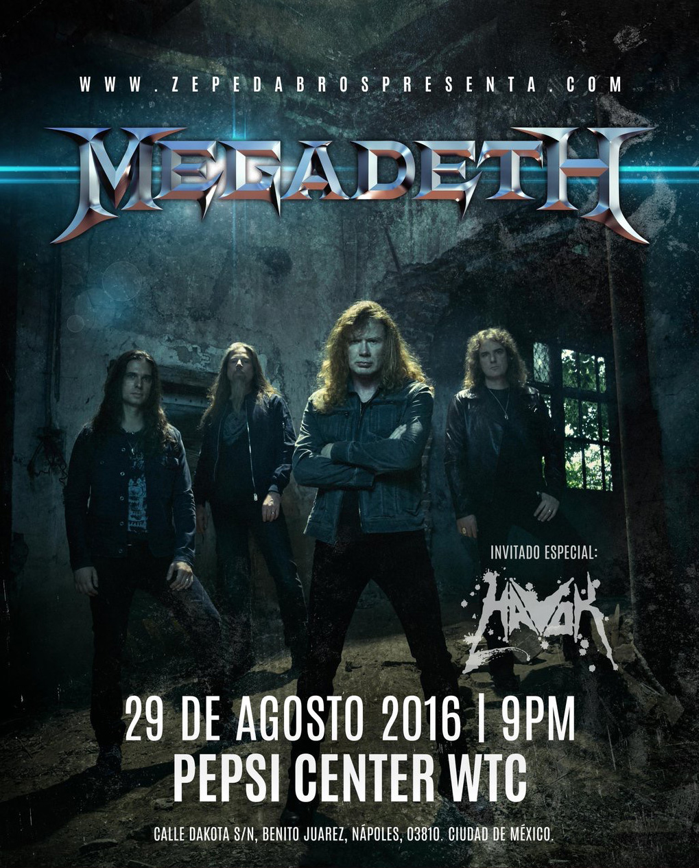 Megadeth_Pepsi_Center_2016