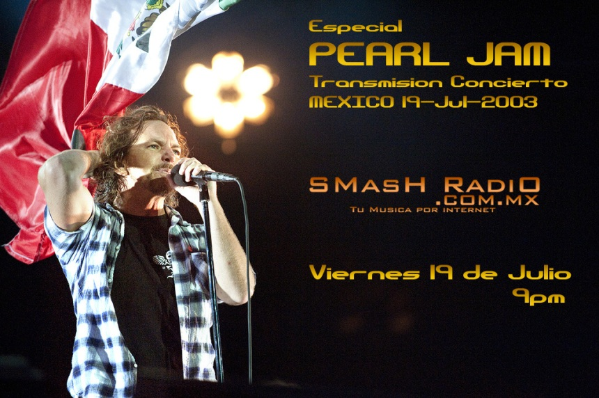 Pearl Jam Mexico 2011
