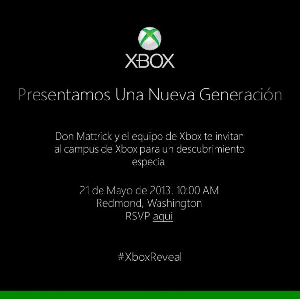 Xbox 21 Mayo 2013