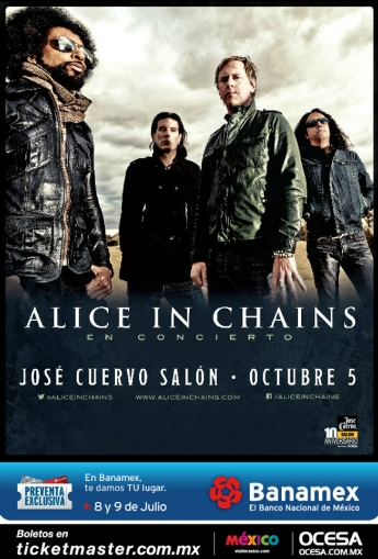 Alice in Chains Mexico 2013