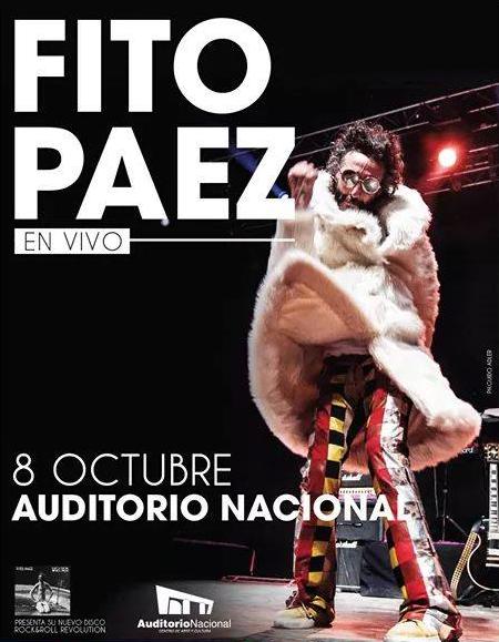 Fito Paez Mexico 2014