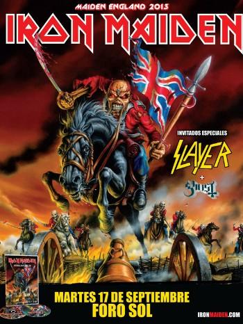 Iron Maiden foro sol 2013