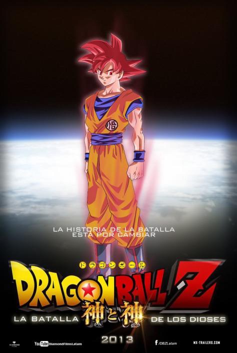 Dragon Ball Z La Batalla de los Dioses