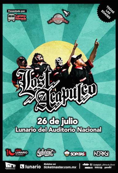 Lost Acapulco Lunario 2014
