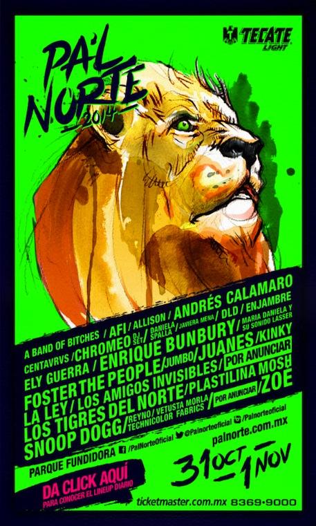 Poster Pal Norte 2014